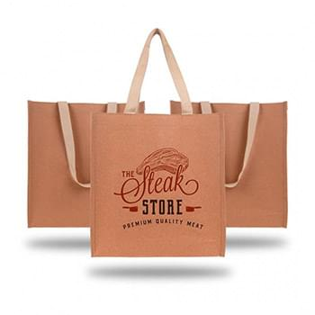 Durable And Washable Kraft Paper Tote Bag (350 GSM)