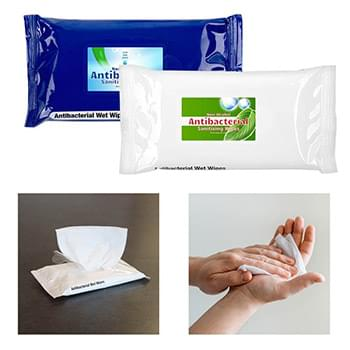 Antibacterial Sanitizer Wet Wipes 10pcs Pack