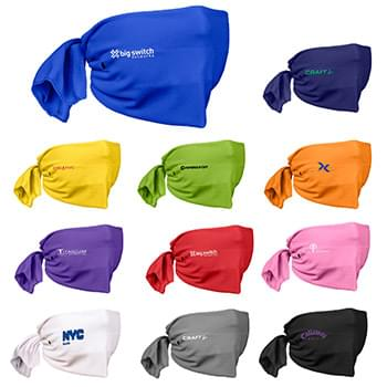 Riveted Cooling Towel Tie-Back Face Mask
