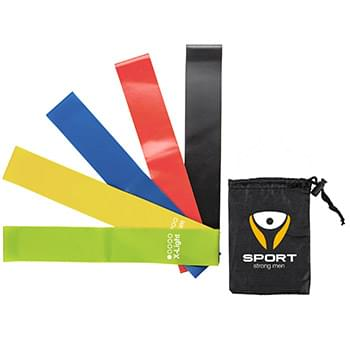 Yoga Resistance Bands with Pouch