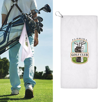 23x12 Sublimated Golf Towel - 200GSM