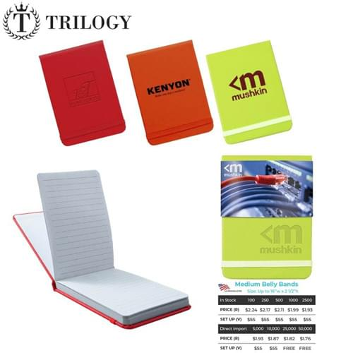 Leatherette Jotter Notebook By Trilogy