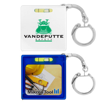 Tape Measure w/ Level Key Chain