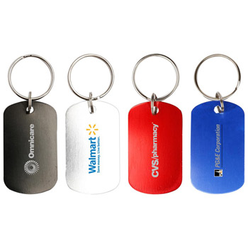 Dog Tag Key Chain