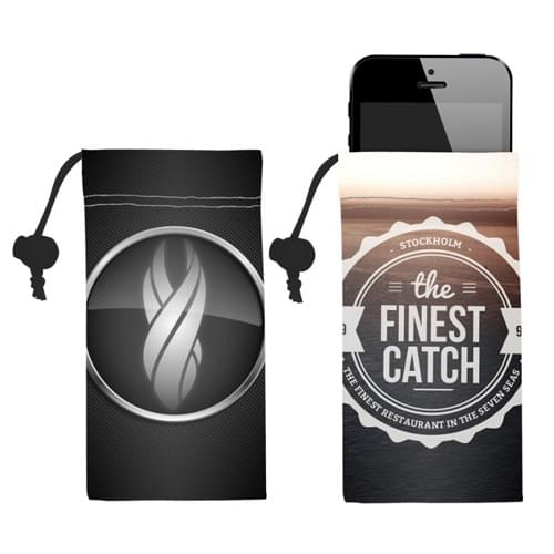 Microfiber Camera/Cell Phone Pouch
