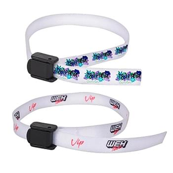 "3/8"" Sublimated w/ one stitching Wrist Lanyard"