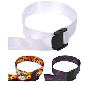 "3/4"" Sublimated w/ one stitching Wrist Lanyard"