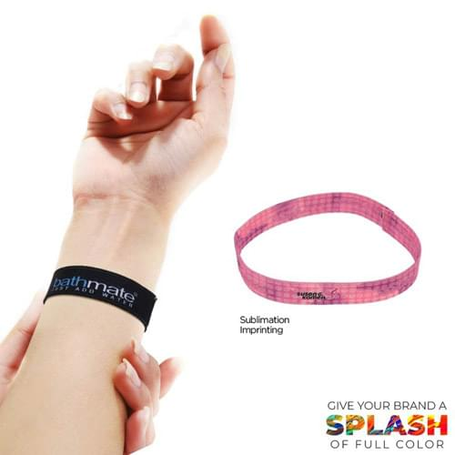 "5/8"" Wide Elastic Wrist Band"