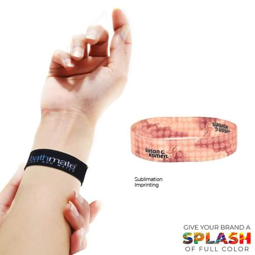 "3/4"" Wide Elastic Wrist Band"