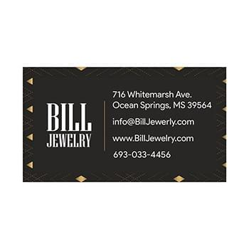 20mil 3.5x2 Inch Square Corners Business Card Magnet