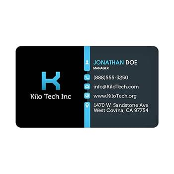 20mil 3.5x2 Inch Round Corners Business Card Magnet