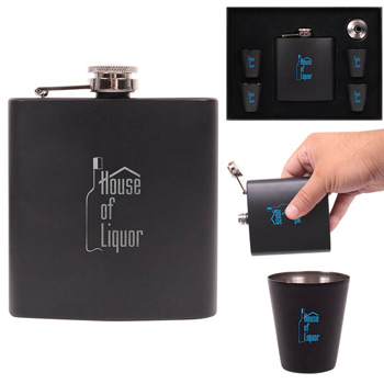 The Craignure Flask Gift Set (6 oz.)