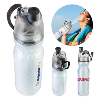 O2 Cool® ArcticSqueeze® Insulated Mist 'N Sip® Squeeze Bottle