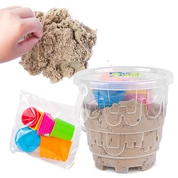 1000g Magic Sand Set with 6pc Molds
