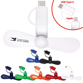 Mini USB Cellphone Fan