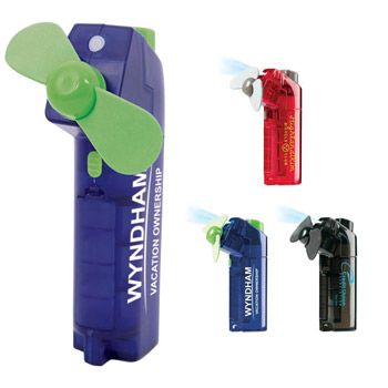 Hand-Held Spray Fan