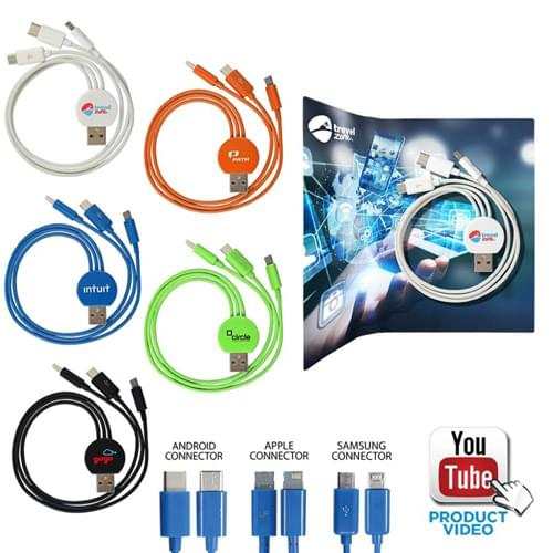 3 In 1 Multi USB Charger