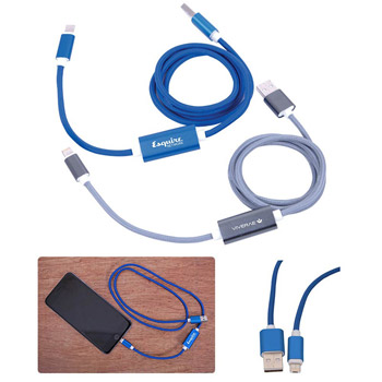 Power-Up 2-In-1 USB Charging Cable